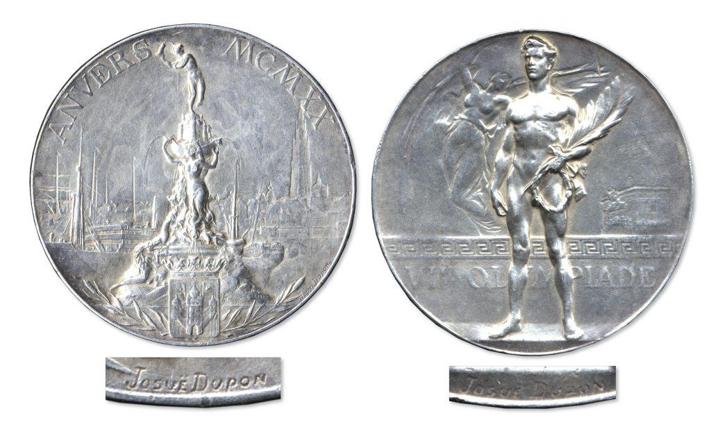 1968 Grenoble gold Olympics medal