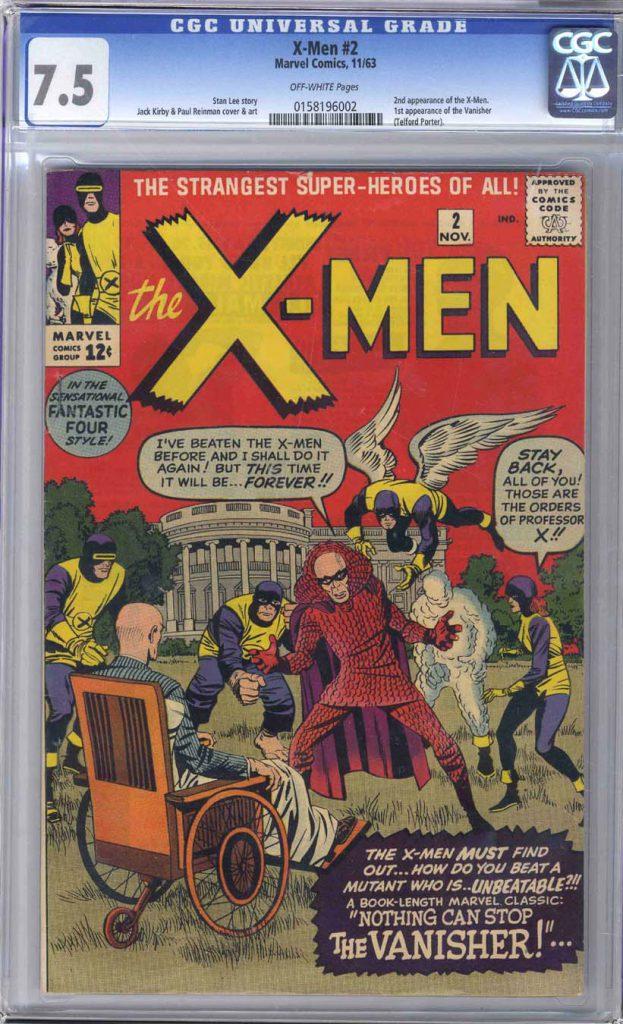 Marvel Comics X-Men 2 CGC 7.5