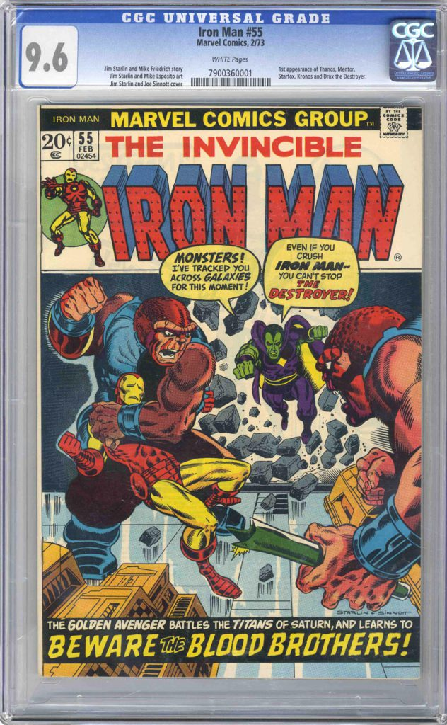 Marvel Comics Iron Man 55 CGC 9.6