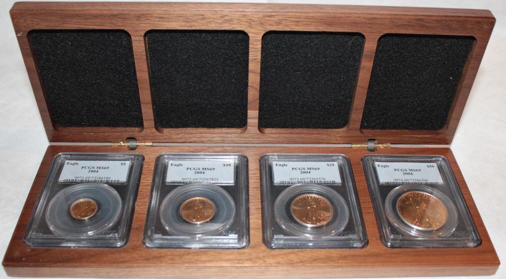 2004 Gold Eagle Coin Set PCGS MS69