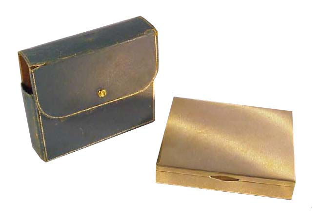 Tiffany & Co Gold Cigarette Case
