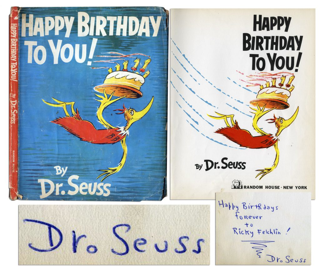 Dr. Seuss Happy Birthday to You 1st edition