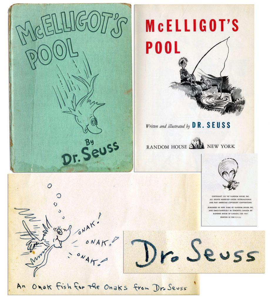 Dr Seuss McElligot's Pool 1st edition