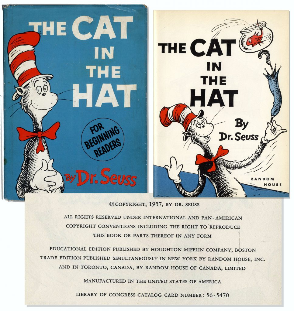 Dr Seuss Cat in the Hat 1st edition