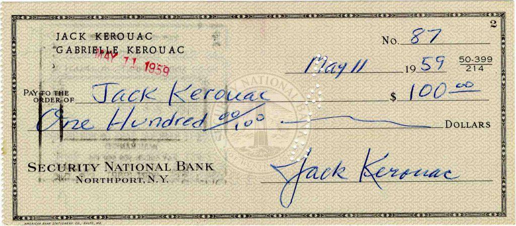 Jack Kerouac Autograph