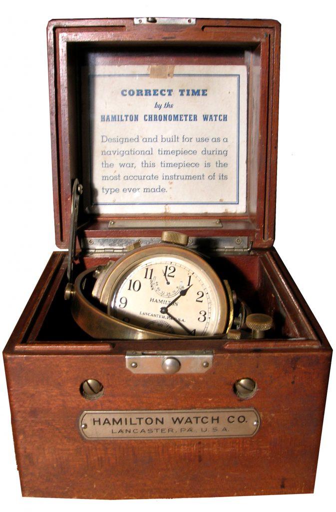 Hamilton Naval Chronometer