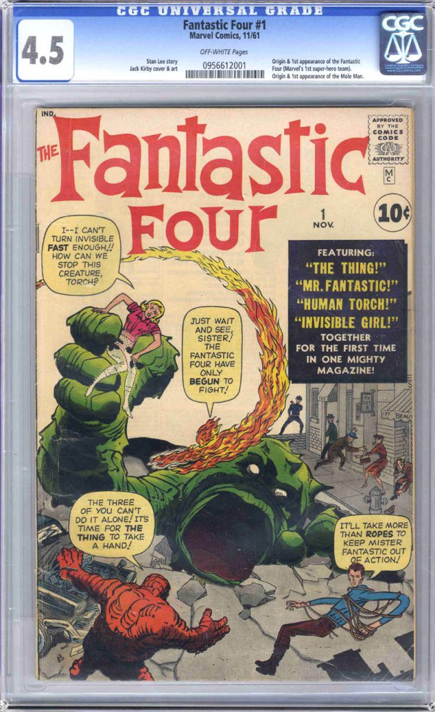 Fantastic Four #12 comic book
