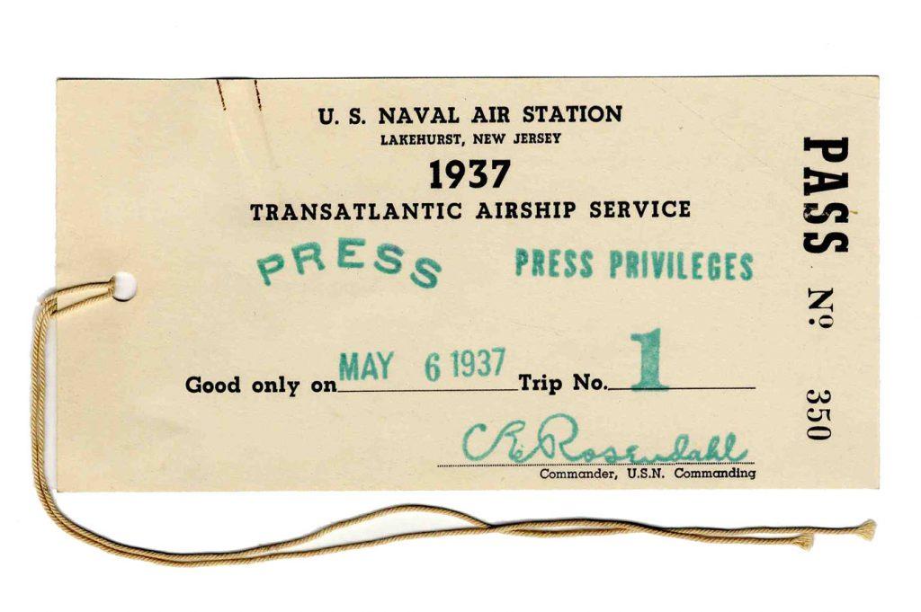 Hindenburg press pass
