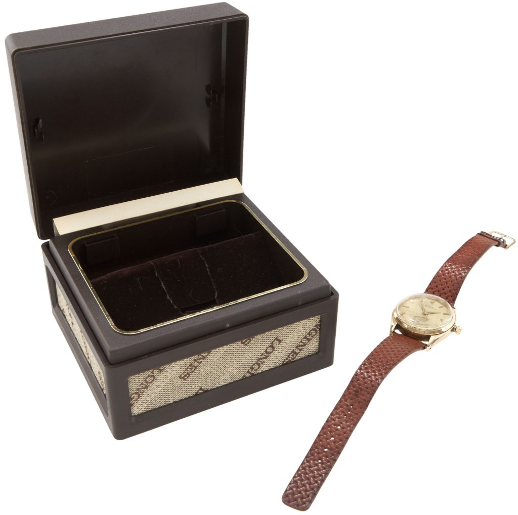 1962-63 Detroit Red Wings Gold Rolex Watch