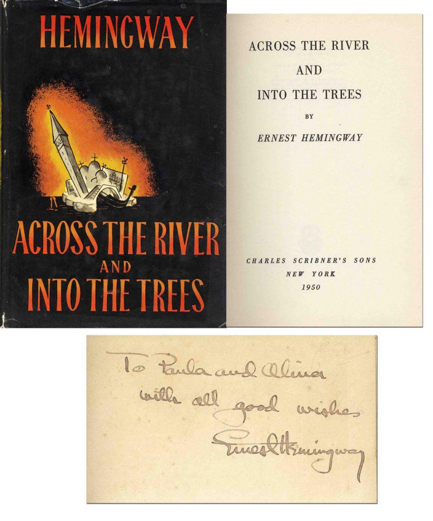 Ernest Hemingway Across the River 1st edition
