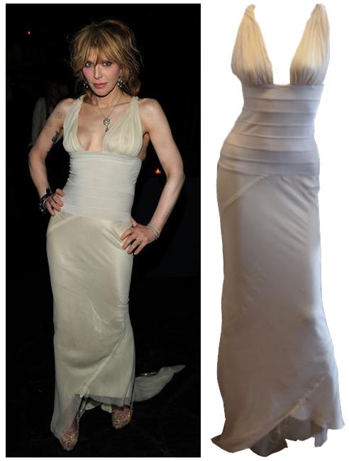 Courtney Love worn dress