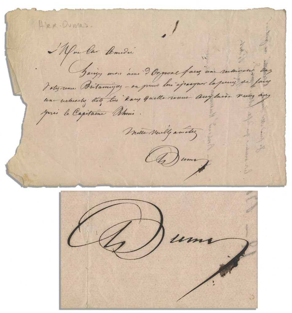 Guillaume Apollinaire autograph