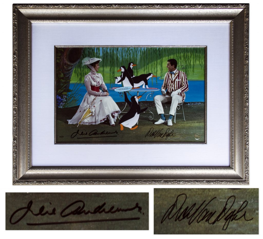 Tea Time with Mary Poppins Julie Andrews signed edition