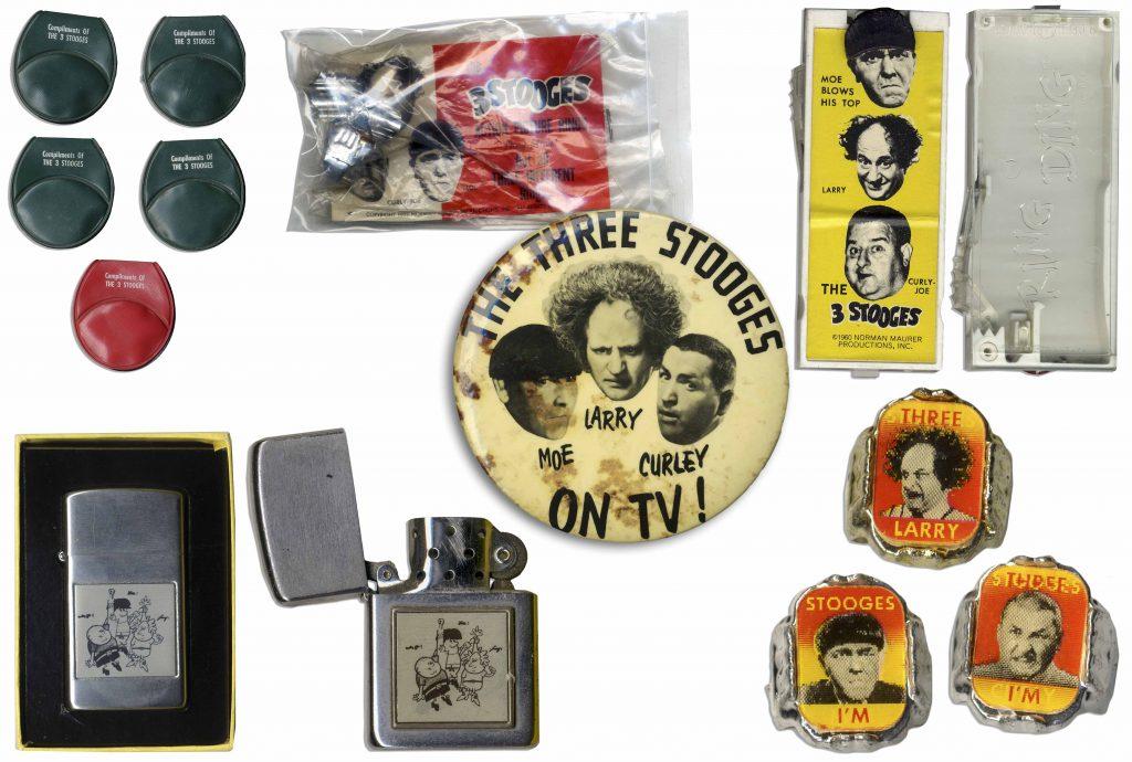Three Stooges toys
