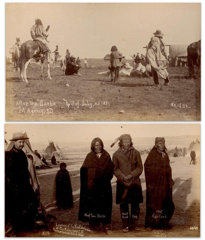 Alexander Gardner Fort Laramie stereoview photo