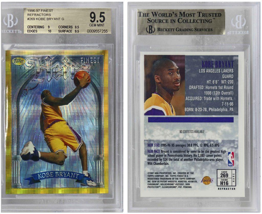 1997 Ultra Star Power Supreme Kobe Bryant #3 PSA 10