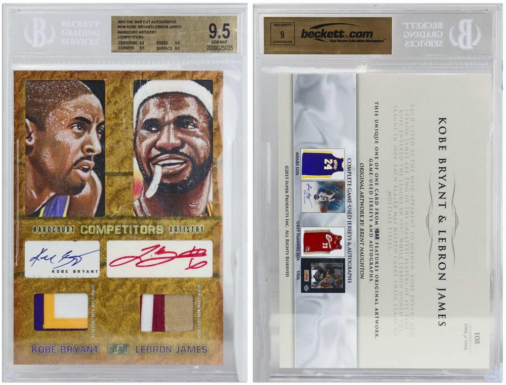 2015 Hardcourt Competitors Artistry Kobe Bryant LeBron James