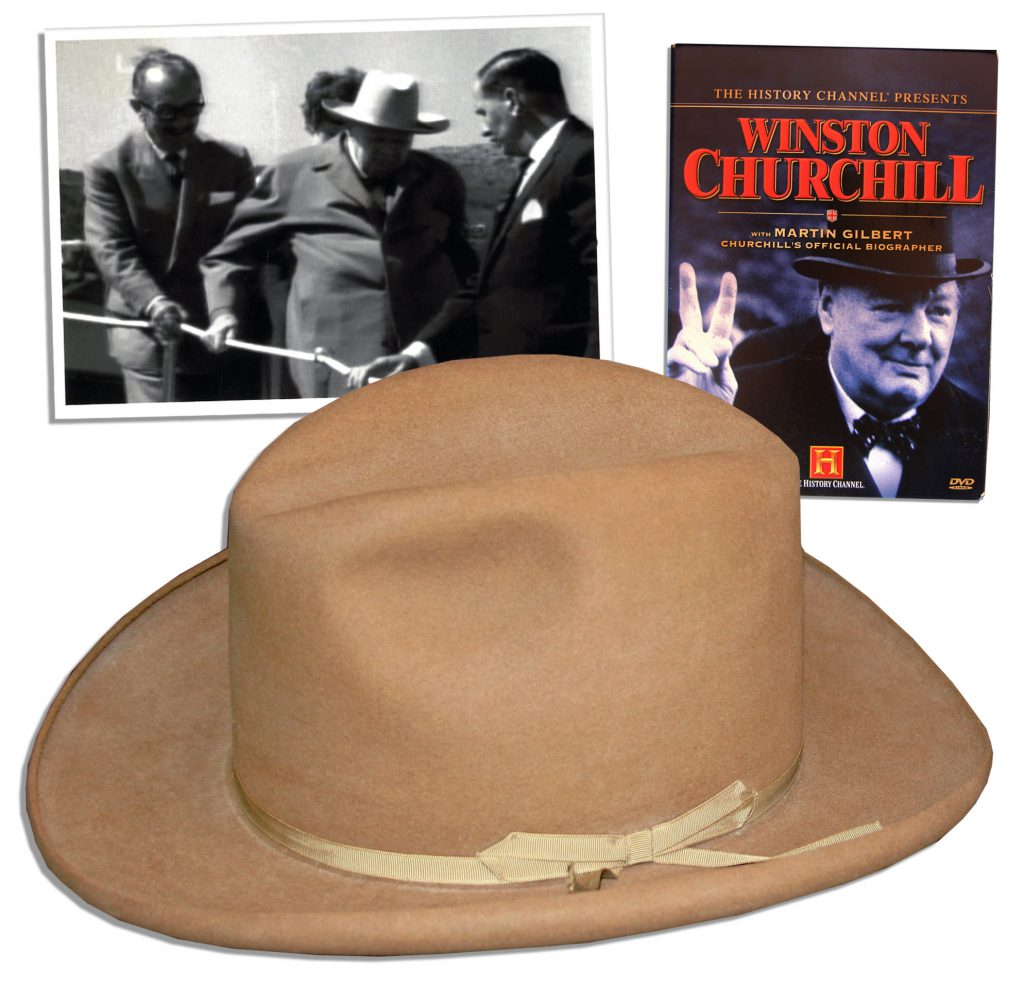 Winston Churchill signed Legion Book limited to 100