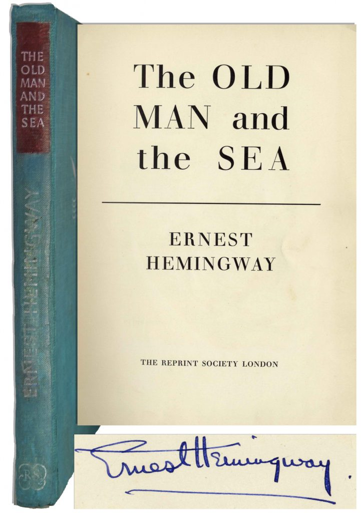 Ernest Hemingway In Our Time 1st edition of 170