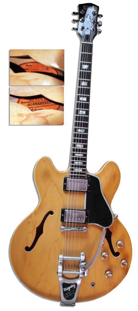 1961 Gibson Les Paul Custom Black Electric Guitar