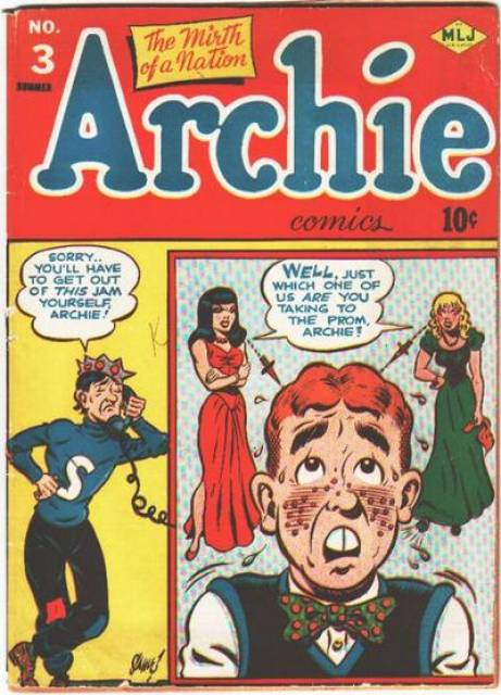 Archie Comics #1 comic book