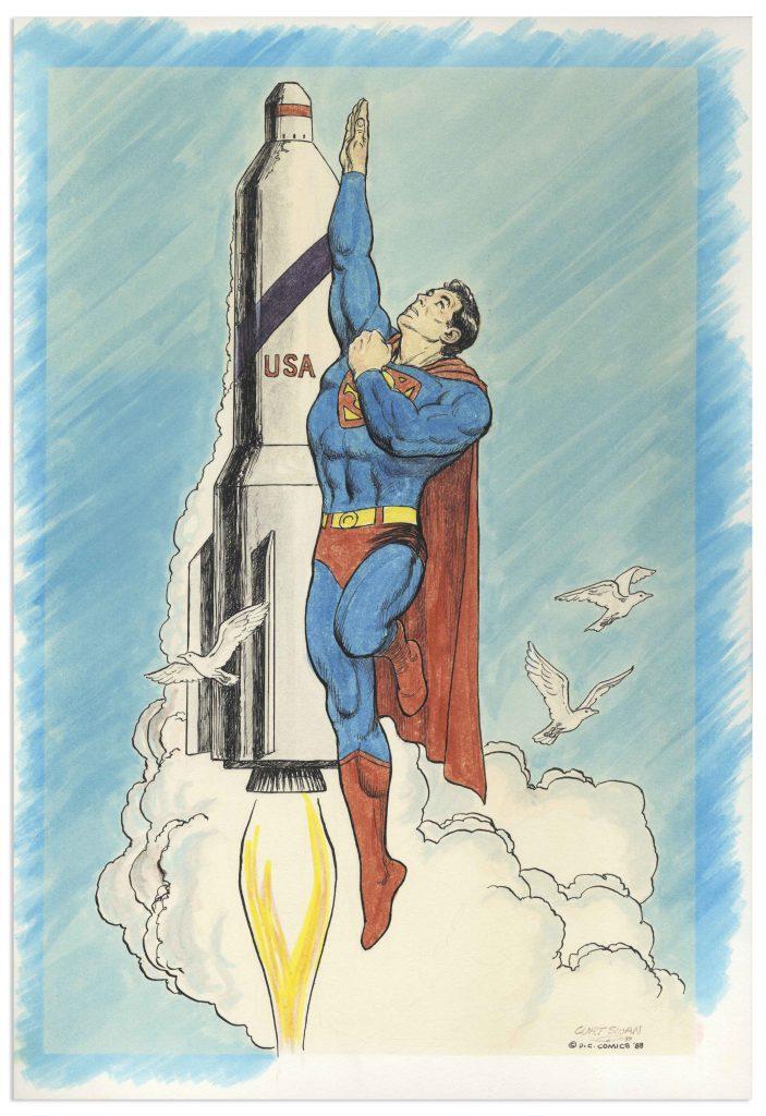 Kurt Schaffenberger Superman cover art
