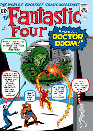 Fantastic Four #5 comic book