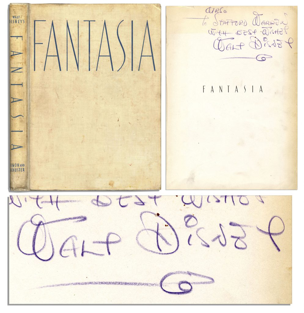 Walt Disney Fantasia 1st edition