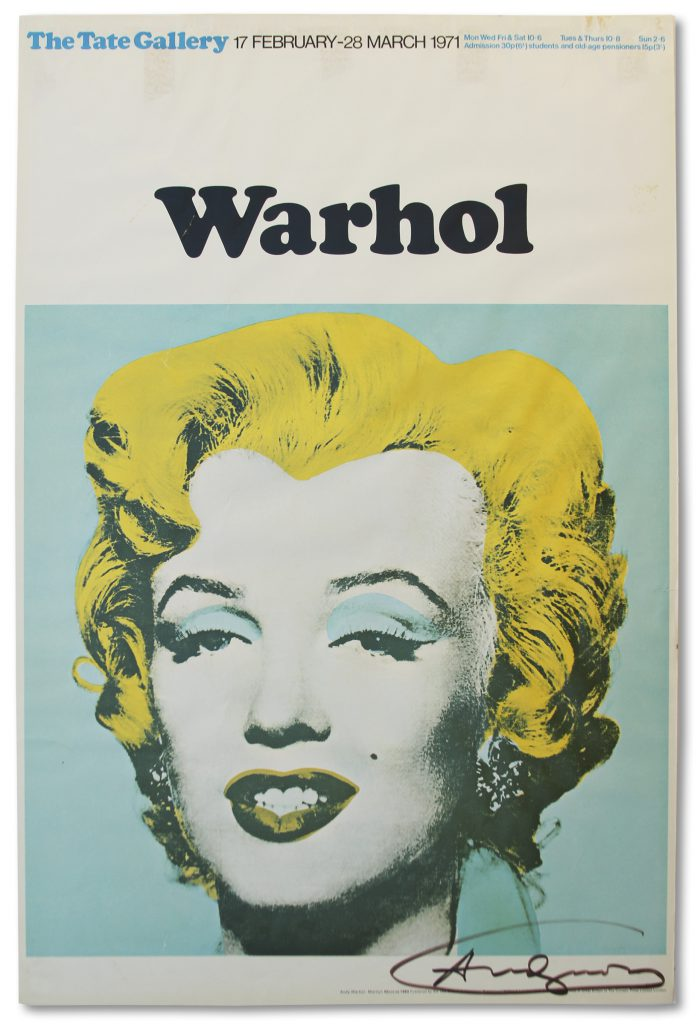 Andy Warhol Rebel Without a Cause James Dean screenprint of 190